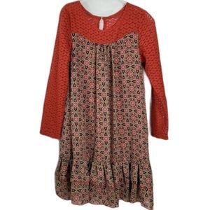 Bonnie Jean Girls eyelet lace Dress size 16 XL